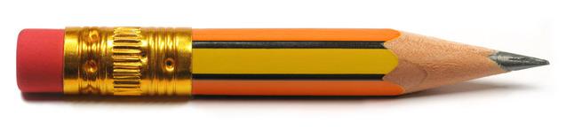 Pencil a dangerous object